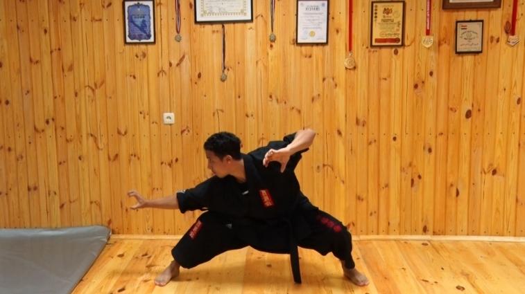 Єгиптянин вчить бойовим мистецтвам житомирян