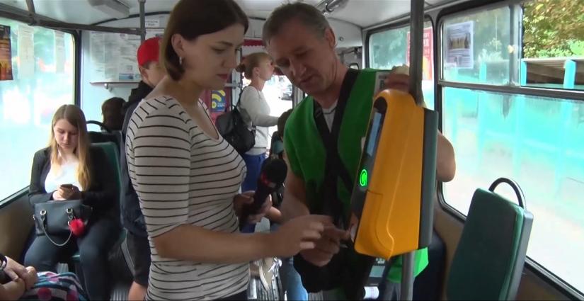Житомирський електротранспорт: оплата проїзду смартфоном
