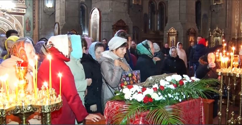 У Житомир привезли мощі Димитрія Солунського