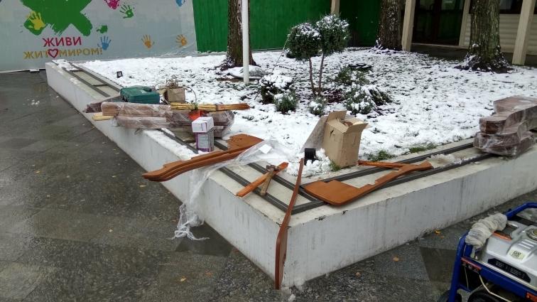 Житомирську Михайлівську готують до зими