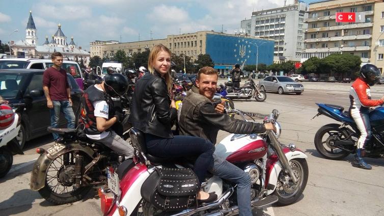 Колона байкерів проїхала вулицями Житомира