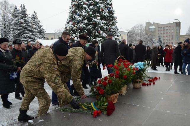 Житомир відзначив 110 річницю з дня народження С.П. Корольова