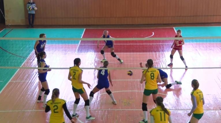 ВК «Полісся» у 3-му турі Чемпіонату України здобув три перемоги