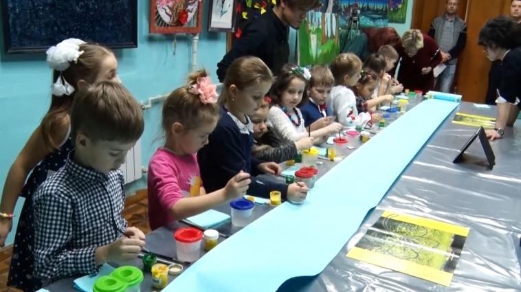 Японці відкрили дитячу виставку в Житомирі