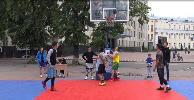 У Житомирі відбувся турнір із стрітболу «Zhytomyr Cup 3x3»