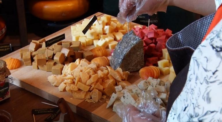 Житомиряни долучилися до європейської культури вживання сирів