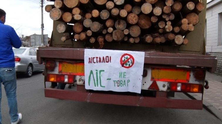 Акцію проти вирубки лісу вкотре організували радомишляни
