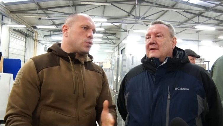 Лідер Соціалістичної партії України відвідав підприємство поблизу Житомира
