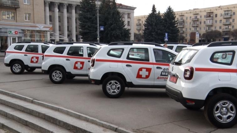 22 автомобілі передано в амбулаторії ОТГ Житомирщини