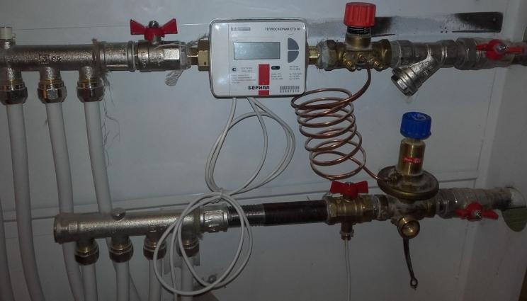 У Житомирі теплові лічильники встановлюватимуть і в морози