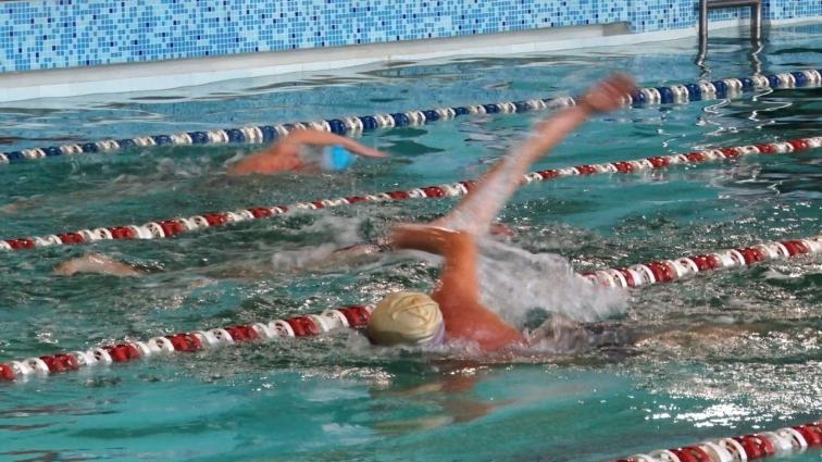 Вперше в Житомирі відбувся ЧУ з плавання у категорії «Мастерс»