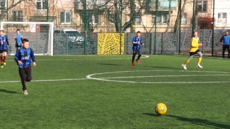 Юні футболісти виборювали першість на міському чемпіонаті