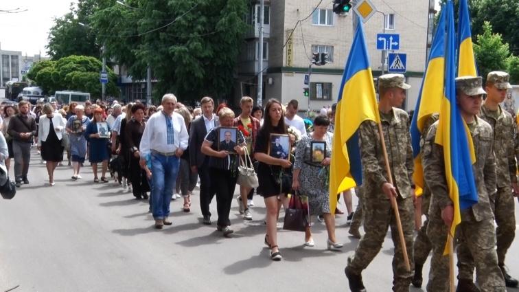 У Житомирі відбулась хода містом до Дня Героїв
