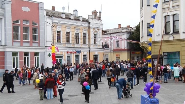 У День міста до Житомира завітав Президент України