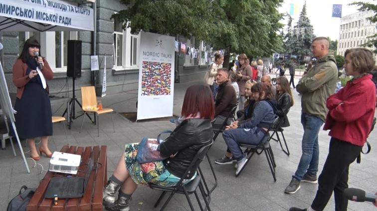 Житомиряни відзначили День молоді