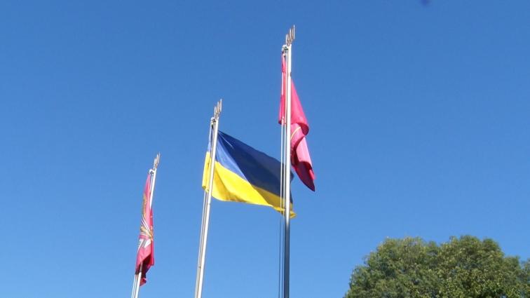 У День прапора в Житомирі відбулися урочисті заходи
