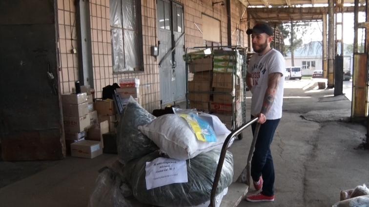 Чергову допомогу в зону АТО відвезли волонтери
