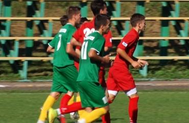 Юніори ФК «Полісся» зазнали другої поразки поспіль в Чемпіонаті України U19