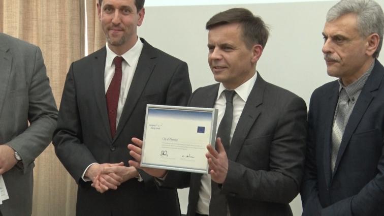 Сертифікат Європейської Енергетичної Відзнаки надали Житомиру