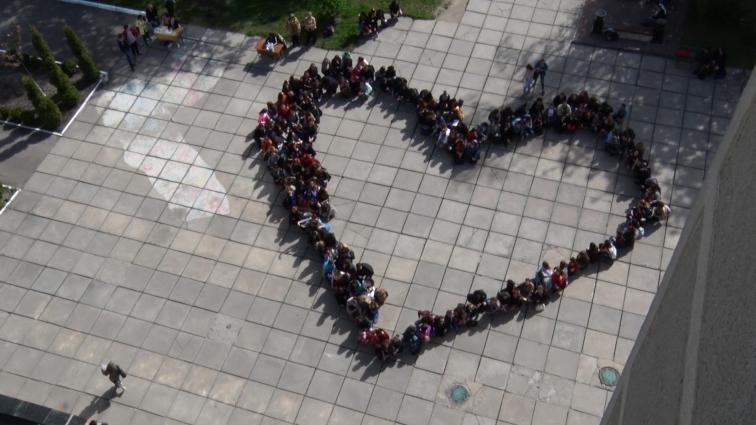 У ЖДУ імені Івана Франка відбулася акція «Всесвітній рекорд доброти»