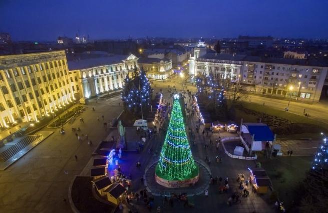 У Житомирі місяць святкуватимуть Новий рік