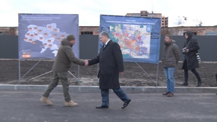 Президент відкрив нові гуртожитки для військових у Житомирі