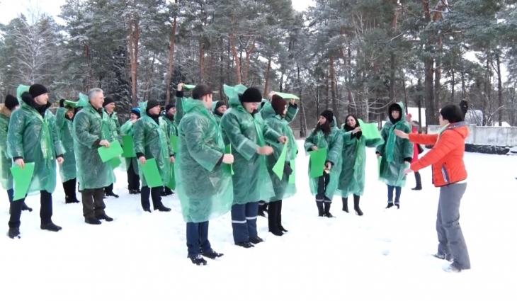У Житомирі провели флешмоб на підтримку лісу