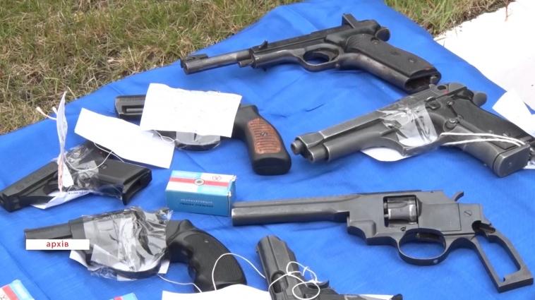 Депутати облради обговорюють вільний обіг зброї