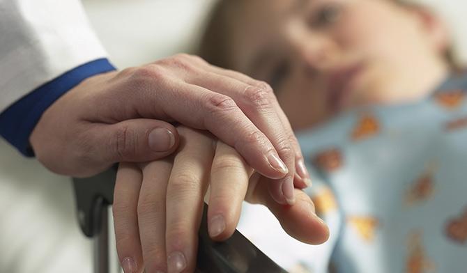 Хвора чотирирічна дитина з Коростишева потребує дороговартісного лікування