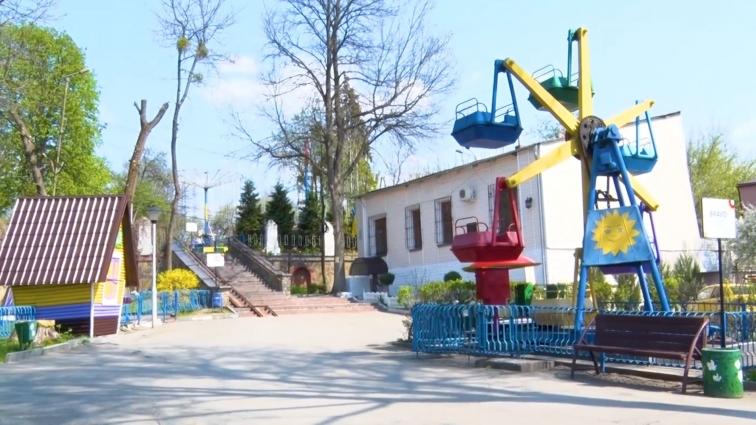 У Шодуарівському парку оновлять атракціони