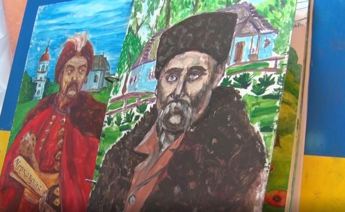 Художники зображають символи Житомирщини у всеукраїнській книзі єдності
