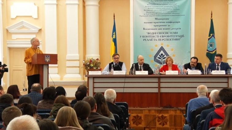 Водні ресурси України потребують відновлення та збереження