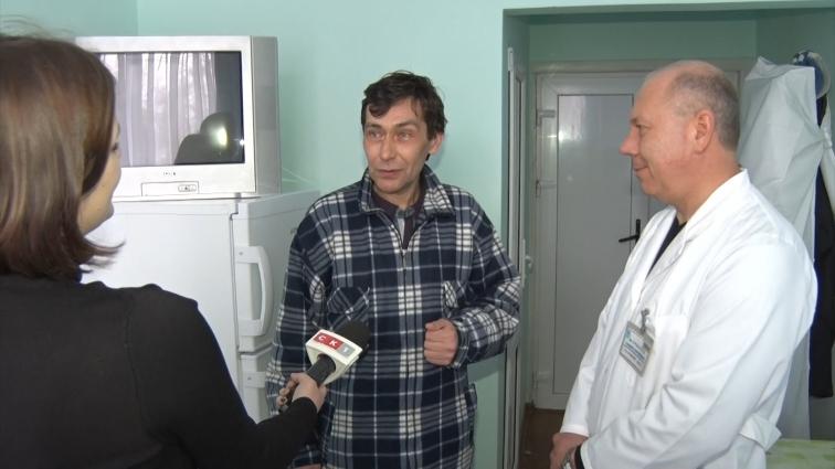 Житомирського кондуктора Сергія Коршуна прооперували в Київському інституті Амосова