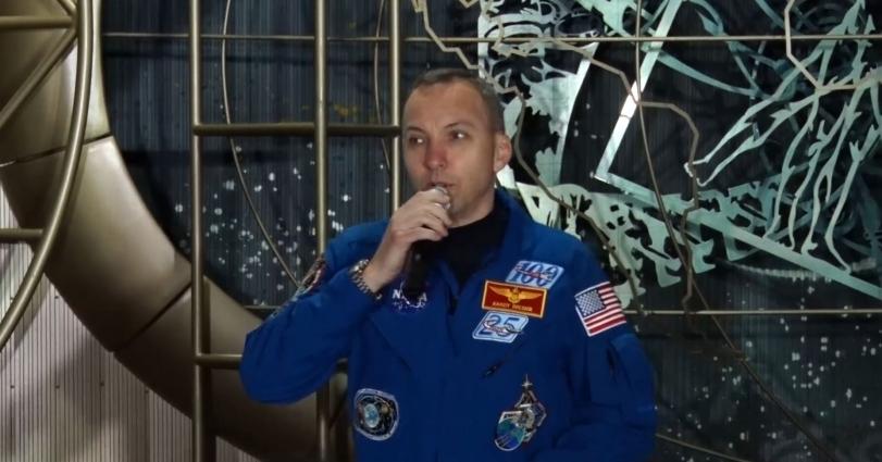 Американський астронавт говорив з житомирянами про космос