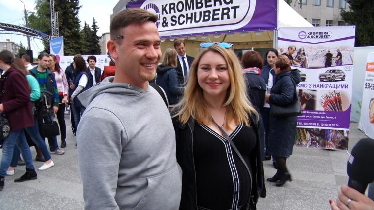 «KROMBERG & SCHUBERT» взяв участь у ярмарку професій