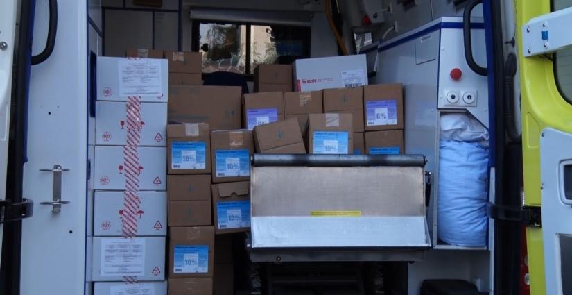 «Український фонд благодійництва» доставив до Житомира ліки на суму близько 500 тисяч гривень
