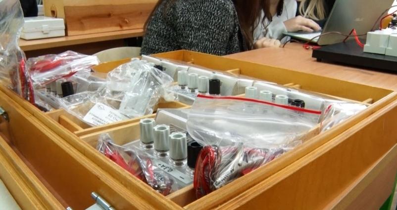 Нове лабораторне обладнання для кабінетів фізики