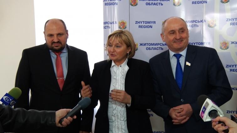 Нардепи про лічильники розповідали міським головам Житомирської області