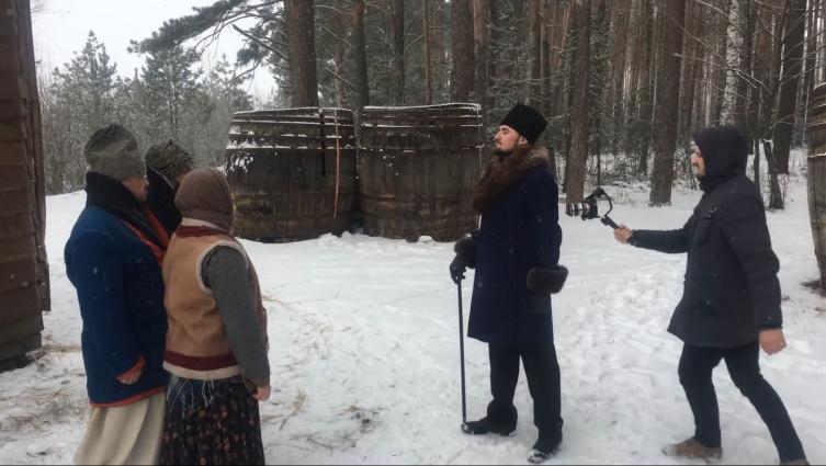 У Житомирі знімають фільм про барона Івана де Шодуара