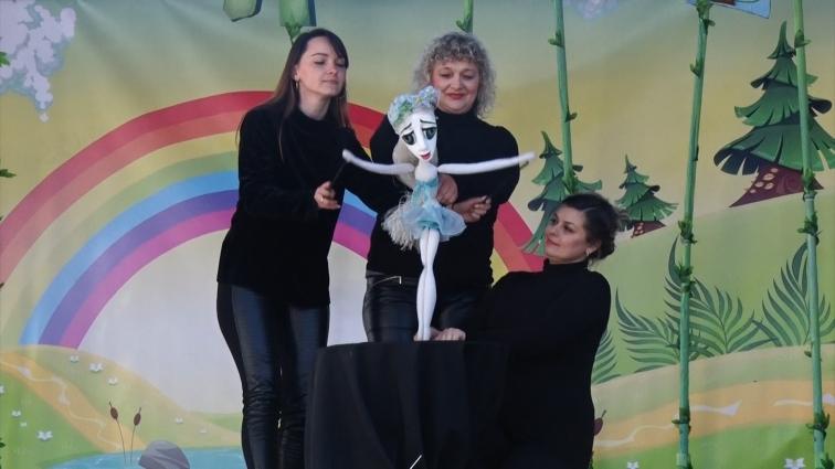 Фестиваль «Світ ляльок» розпочався в Житомирі