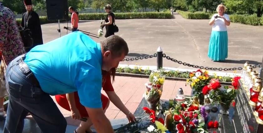 Житомиряни вшанували жертв Великого терору