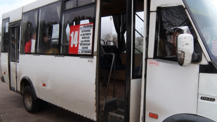 Жителі вулиці Соснової у Житомирі нарікають на роботу водіїв маршруток