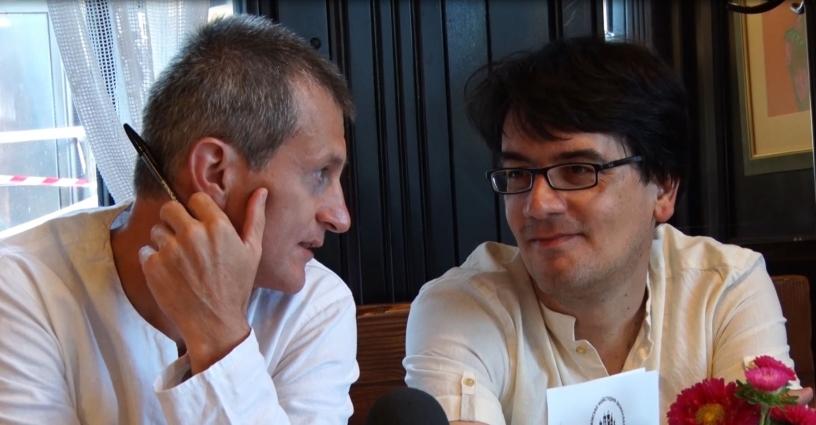 Німецький журналіст провів майстер-клас для житомирян
