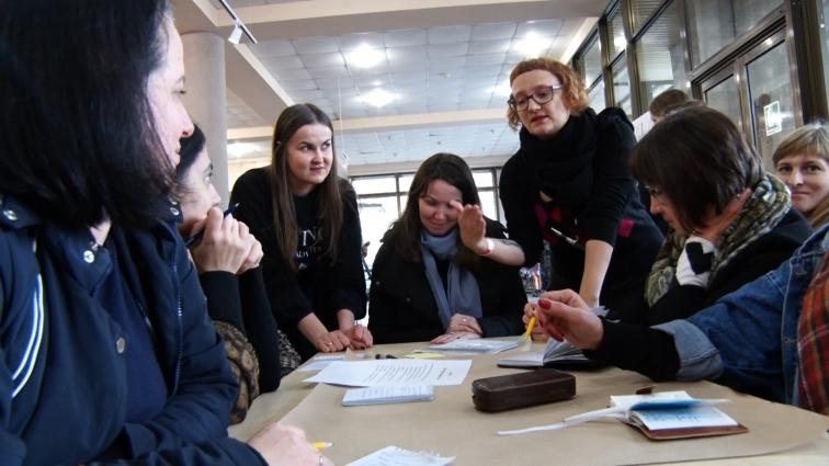 Житомирянам провели майстер-клас, як започаткувати бізнес