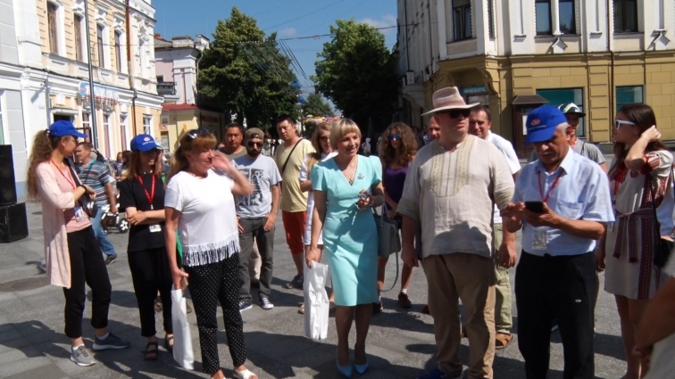 Міжнародний мистецький пленер «Кращий художник» відкрили у Житомирі