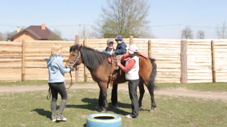Діти з ДЦП зможуть безплатно пройти лікування з кіньми