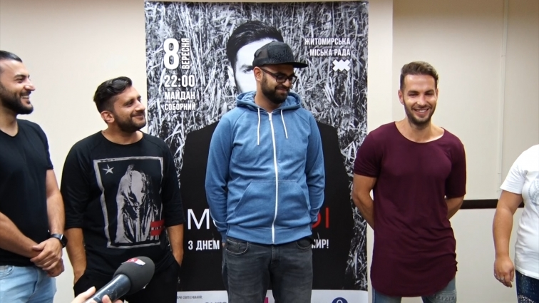 У День міста Житомира учасники гурту Morandi розказали про творчі плани