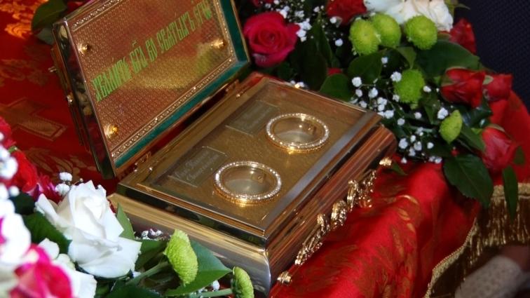 Мощі святих Кипріана і Устинії перебуватимуть в Житомирі до 9 липня