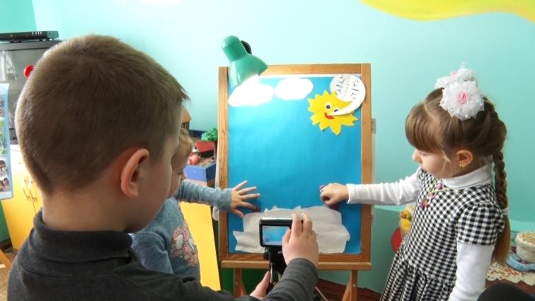 У Житомирі дошкільнята власноруч створюють мультики