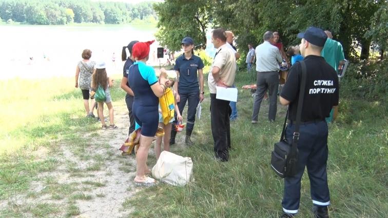 Рятувальники навчали дітей правилам поведінки на воді